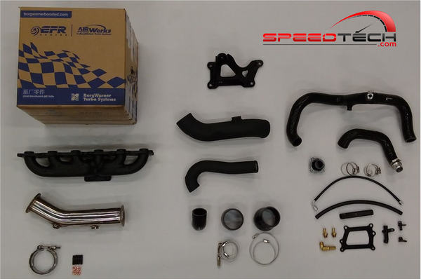 BMW N55 F-CHASSIS, STAGE 3 EFR 9180 or 9174 TURBO KIT
