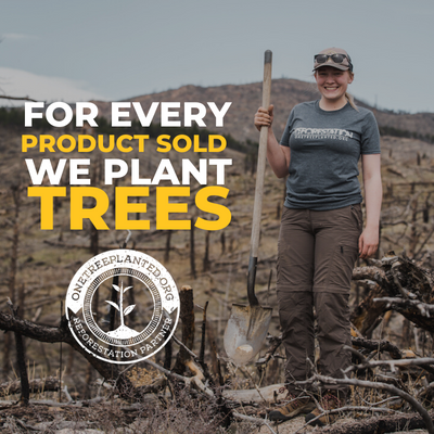 1 PRODUCT SOLD = 1 TREE PLANTED!