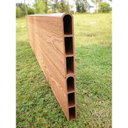 "Classic Sienna Raised Garden Bed 'L' Shaped 12' x x 11"" - 1"" Profile"