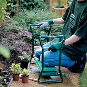Garden Stool & Kneeler Cushion w/ Tool Bag