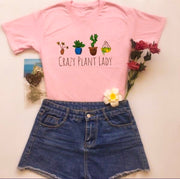 """Crazy Plant Lady"" T-Shirt"