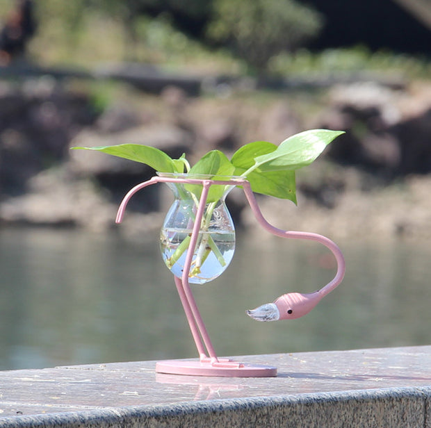 Pink Flamingo Propagation Stand