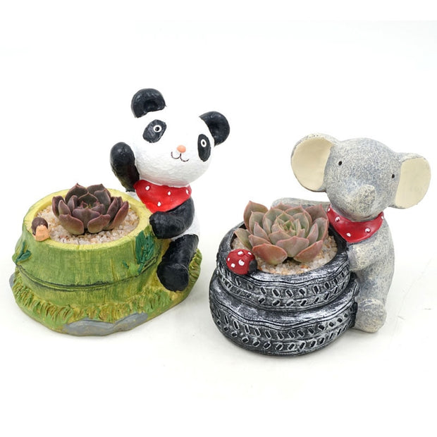 Cute Animal Pots