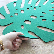 Monstera Leaf Mat
