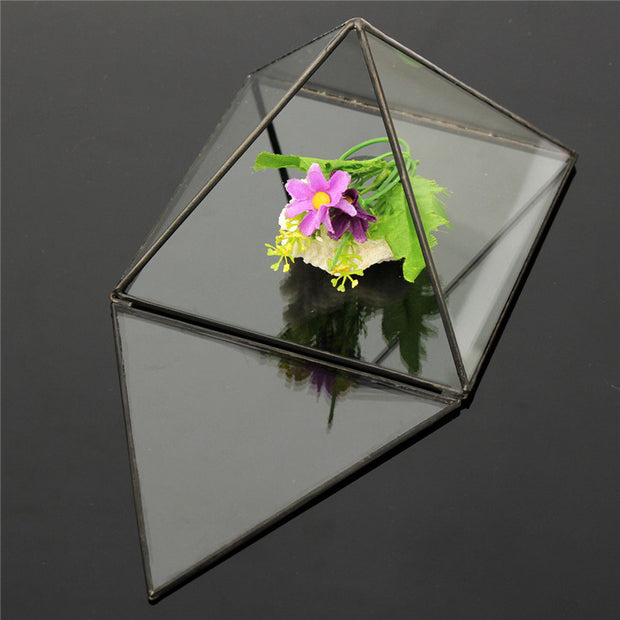 Triangle TableTop Terrarium