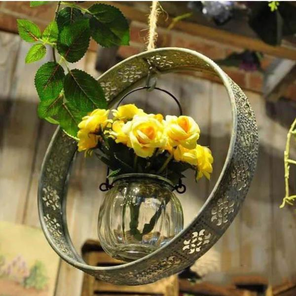 Retro Hanging Flower Pot
