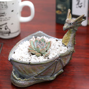 Game of Thrones Charizard Succulent Pot