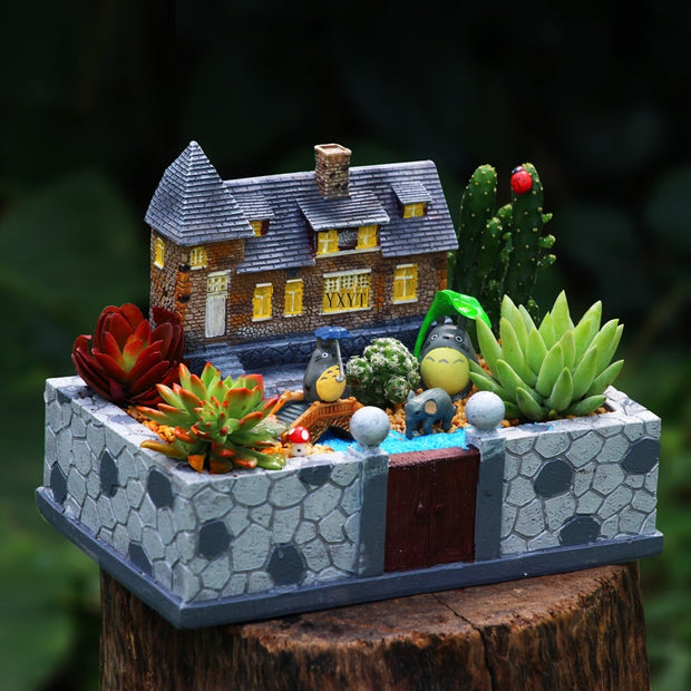 Cottage Fairy Garden