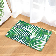 Tropical Plant Floor Mat