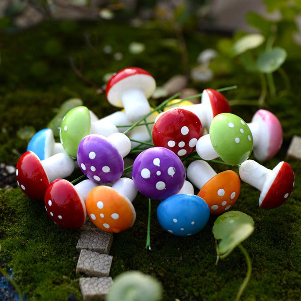 20PC Mini Mushroom Set