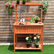 Potting Bench Work Station w/ Storage