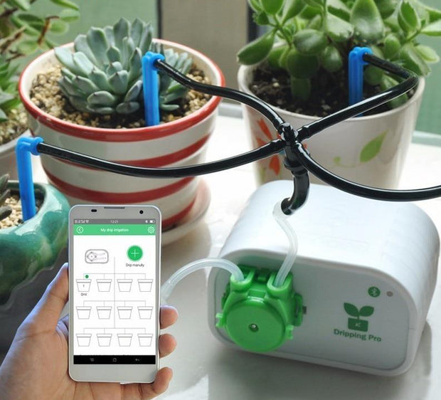 Smart Micro-Irrigation System