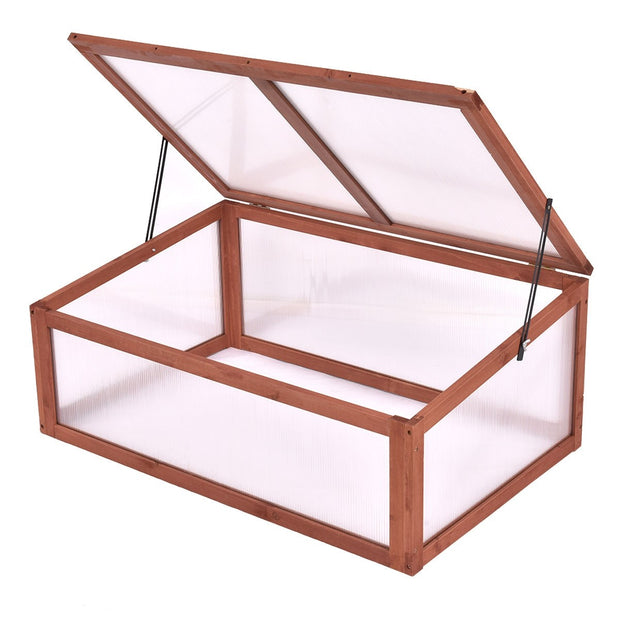 Garden Portable Wooden Greenhouse