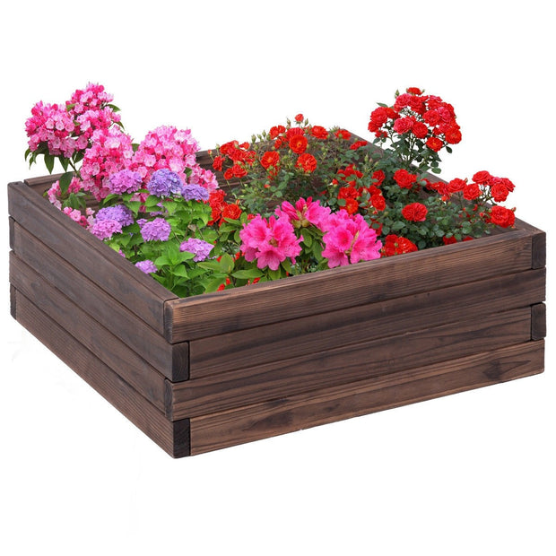 Square Raised Garden Bed Planter