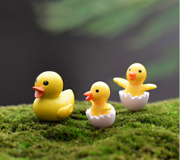 3PC Duck Family