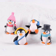 4PC Penguin Set