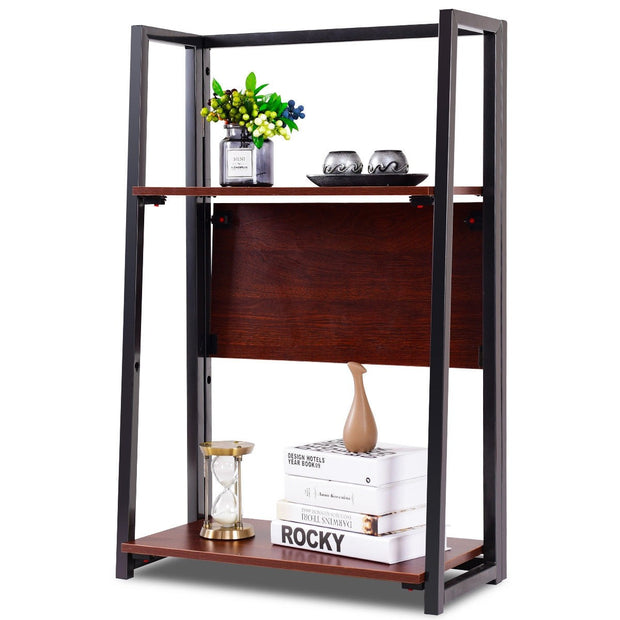 3-Tier Adjustable Multi-Functional Plant Display Stand Shelf