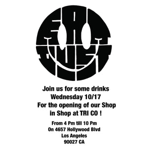 Eat Dust x TRIco Popup Shop Opening Party