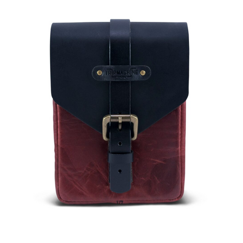 Trip Machine Tank Pouch - Oxblood