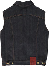 Eat Dust Indigo Blue Denim Vest