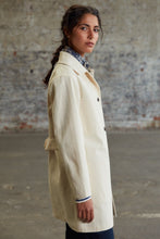 Eat Dust Women's Duster Coat - Off-White