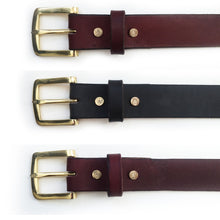 Abel Brown Foster Belt Black