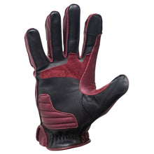 "Abel Brown ""Dune"" Riding Gloves - Oxblood"
