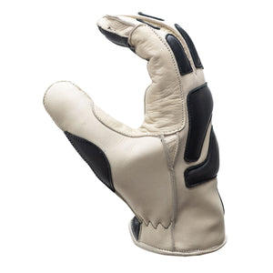 "Abel Brown ""Dune"" Riding Gloves - Ivory"