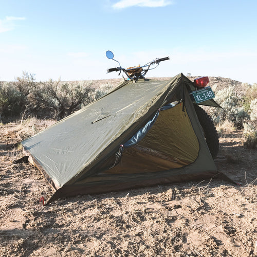 Abel Brown Nomad 3 Tent