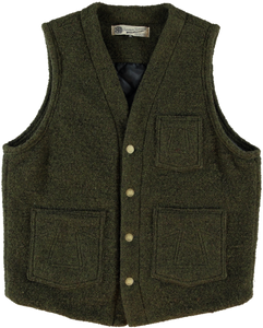 "Eat Dust ""Cali"" Forest Green Vest"