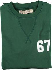 Eat Dust College Sweater, Green
