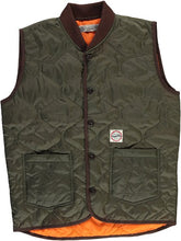 "Eat Dust ""Frost Hammer"" Quilted Nylon Vest"