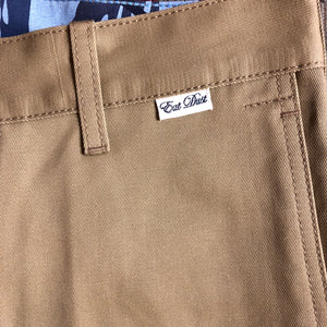 Eat Dust (Straight Fit) Worker Chino - Tan