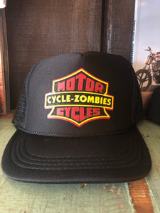 Cycle Zombies Motor Trucker Hat
