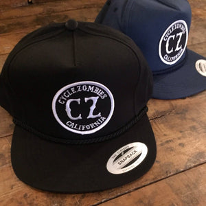 Cycle Zombies California Seal Patch Hat