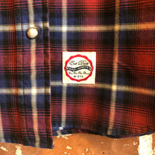 Eat Dust Women's Western Plaid Check L/S Shirt