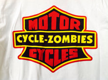Cycle Zombies Motor S/S T-Shirt - White