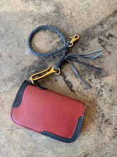 Leather Rope Wallet Lanyard
