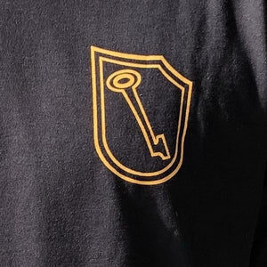 Lock & Key T-Shirt - Yellow/Black
