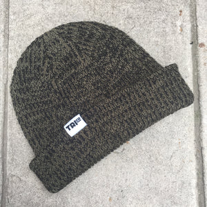 TRIco Beanie Marbled Olive