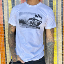 "Limited Edition ""Hell On Wheels Dirt Rider"" T-Shirt - White"
