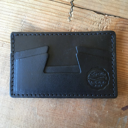Eat Dust Black Card Holder Wallet