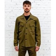 Eat Dust Troy Deck Shirt, Olive