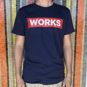 Saint Works T-Shirt - Navy Blue