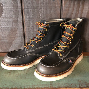 "Thorogood 6"" Moc Toe Boots - Black"