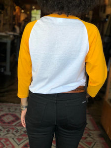 "TRIco ""Big-Twins"" Raglan - Yellow/White"