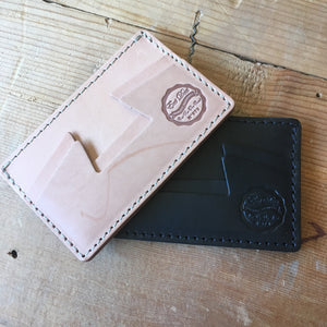 Eat Dust Natural Card Holder Wallet