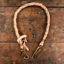TRIco Wallet Lanyard - Natural Leather
