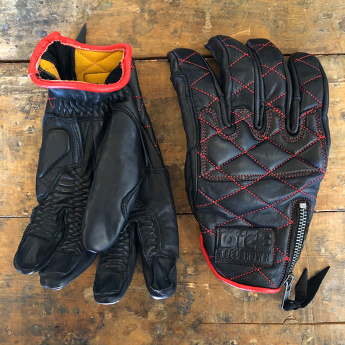 DicE x Abel Brown Collab Duster Glove - Black