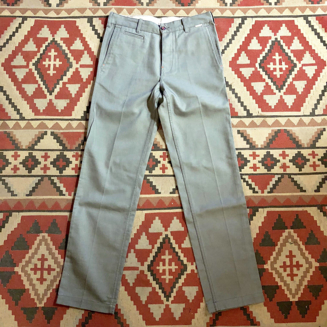 Eat Dust (Straight Fit) Worker Chino - Dark Grey